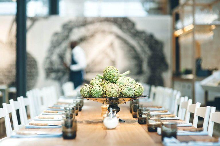 Butcher & The Farmer - Table Setting